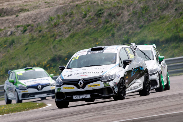 2016 Renault Clio Cup, Thruton, 7th-8th My 2016 Paul Rivett (GBR) WDE Motorsport Renault Clio Cup  World copyright. Jakob Ebrey/LAT Photographic