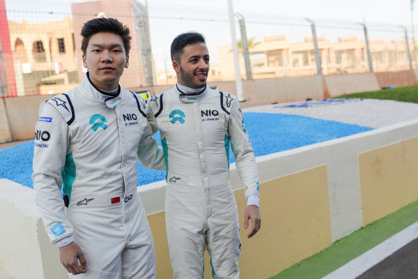 Daniel Cao (CHN), Rookie Test Driver for NIO 333 and Antonio Fuoco (ITA), Rookie Test Driver for NIO 333