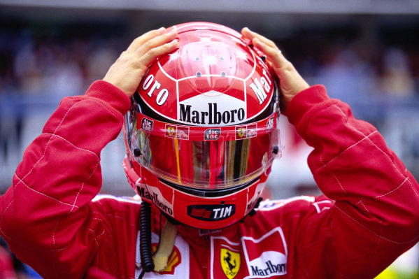 Michael Schumacher., Ferrari.