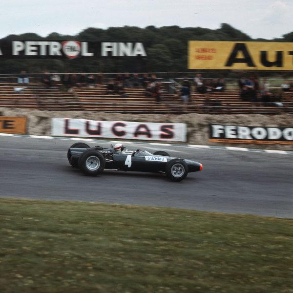 Brands Hatch, England.14-16 July 1966.Jackie Stewart (BRM P261).Ref-3/2262.World Copyright - LAT Photographic