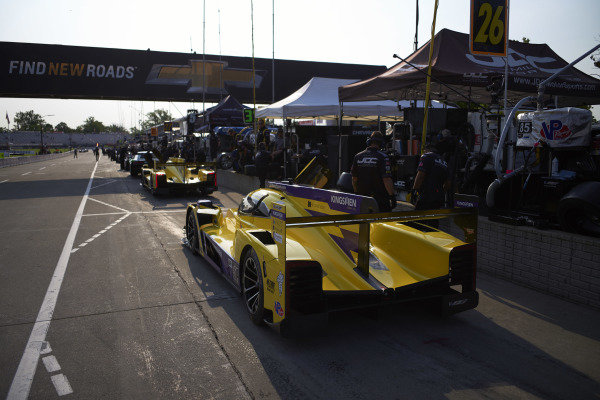 #85 JDC-Miller Motorsports Cadillac DPi, DPi: Misha Goikhberg, Tristan Vautier, #84 JDC-Miller Motorsports Cadillac DPi, DPi: Simon Trummer, Stephen Simpson