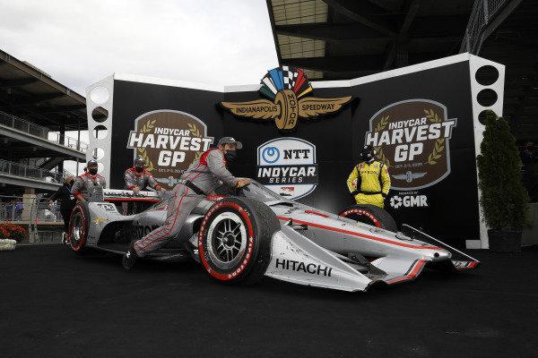 #12: Will Power, Team Penske Chevrolet, podium, team
