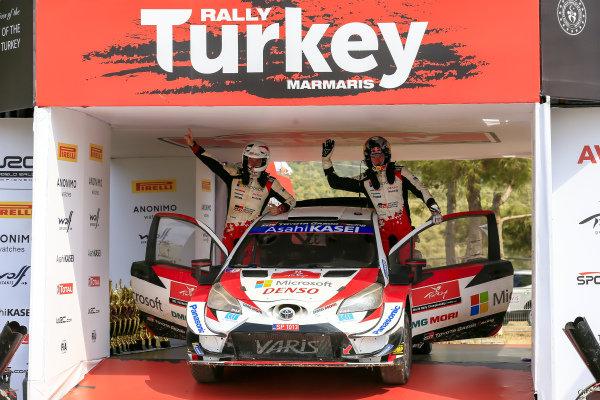 Elfyn Evans (GB) and Scott Martin (GB), Toyota Gazoo Racing WRT, Toyota Yaris WRC 2020