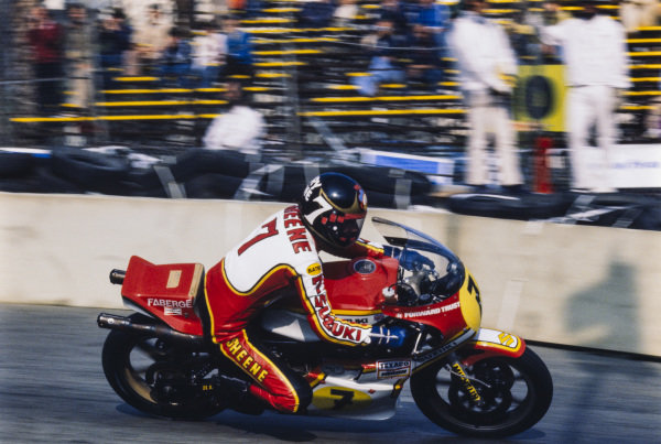 Barry Sheene, Suzuki.