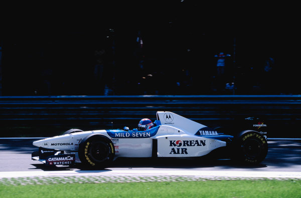 1996 Italian Grand Prix.Monza, Italy. 6-8 September 1996.Ukyo Katayama (Tyrrell 024 Yamaha).Ref-96 ITA 50.World Copyright - LAT Photographic