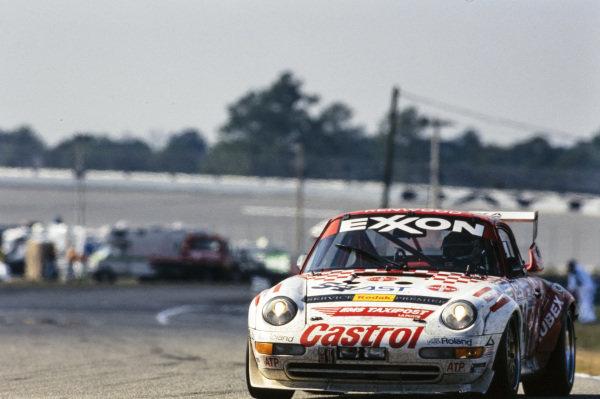 Jean-François Hemroulle / Stéphane Cohen / Paul Kumpen / Albert Vanierschot / Georges Cremer, Peka Racing, Porsche 993.