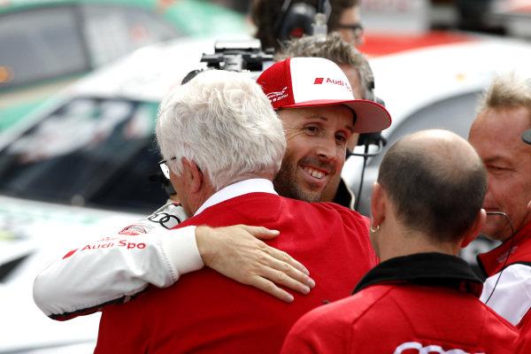 René Rast, Audi Sport Team Rosberg with Arno Zensen, Audi Sport Team Rosberg.