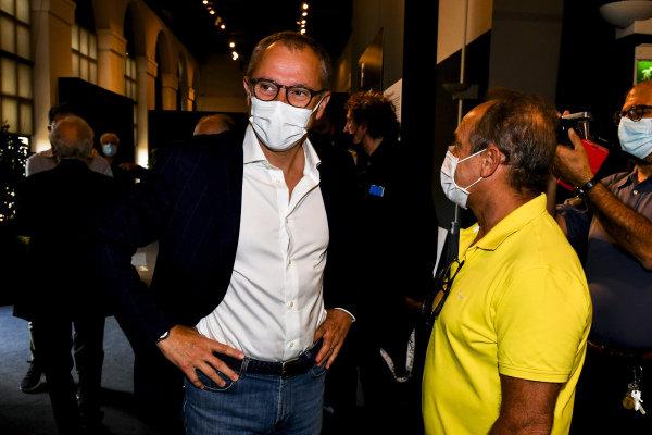 Stefano Domenicali and Pierluigi Martini, Motorsport Images Exhibition at Villa Reale di Monza