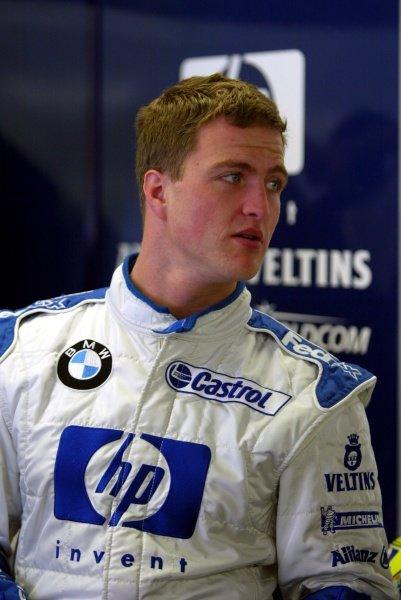 Ralf Schumacher (GER) Williams.Italian Grand Prix, Monza, 14 September 2002.DIGITAL IMAGE