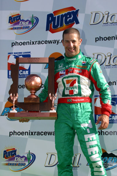 2003 Phoenix IRL IndyCar, 21-23 March 2003; Phoenix International Raceway; Phoenix, Arizona USA