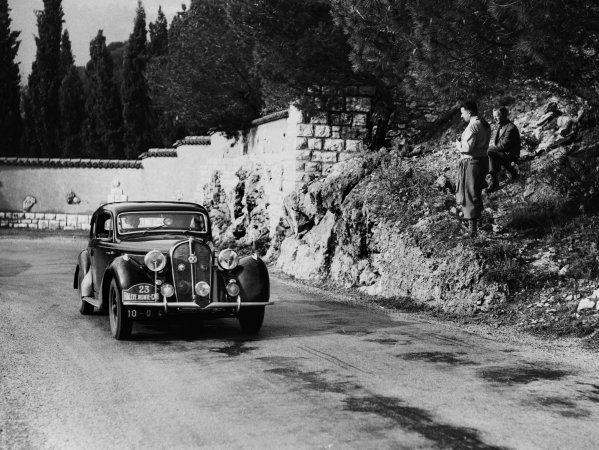 Monte Carlo, Monaco. 22nd January - 29th January 1950.