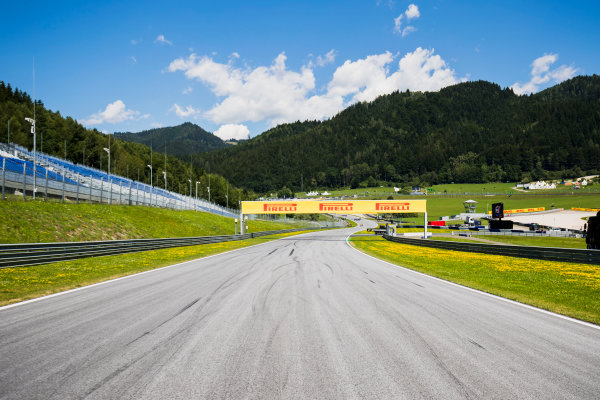 2017 FIA Formula 2 Round 5. Red Bull Ring, Spielberg, Austria. Thursday 6 July 2017. A view of the circuit. Photo: Zak Mauger/FIA Formula 2. ref: Digital Image _56I9973
