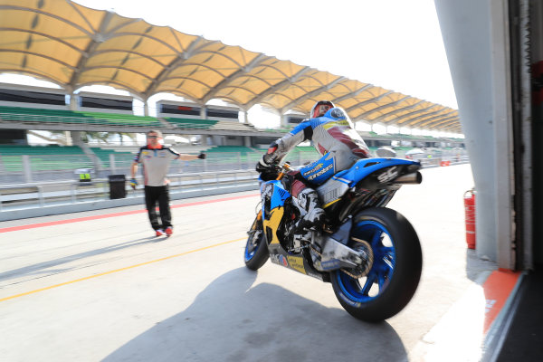2018 MotoGP Championship - Sepang test, Malaysia Tuesday 30 January 2018 Thomas Luthi, Estrella Galicia 0,0 Marc VDS World Copyright: Gold and Goose / LAT Images ref: Digital Image 1091