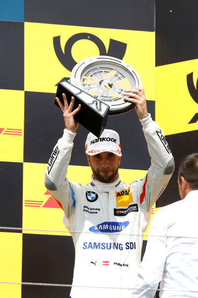 Podium: third place Philipp Eng, BMW Team RBM.