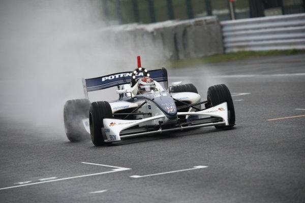 Suzuka, Japan. 9th - 10th November 2013. Rd 7. Race 1. 2nd position Daisuke Nakajima ( #31 NAKAJIMA RACING ) action World Copyright: Yasushi Ishihara/LAT Photographic. Ref: 2013SF_Rd7_012