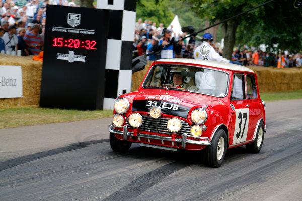 2014 Goodwood Festival of Speed  Goodwood Estate, West Sussex, England. 26th - 29th June 2014.  Sunday 29 June 2014. Mini Cooper S World Copyright: Adam Warner/LAT Photographic. ref: Digital Image _L5R7681