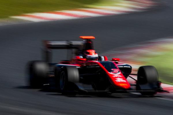 2016 GP3 Series Test 2. Circuit de Catalunya, Barcelona, Spain. Thursday 20 April 2017. George Russell (GBR, ART Grand Prix)  Photo: Zak Mauger/GP3 Series Media Service. ref: Digital Image _56I5570