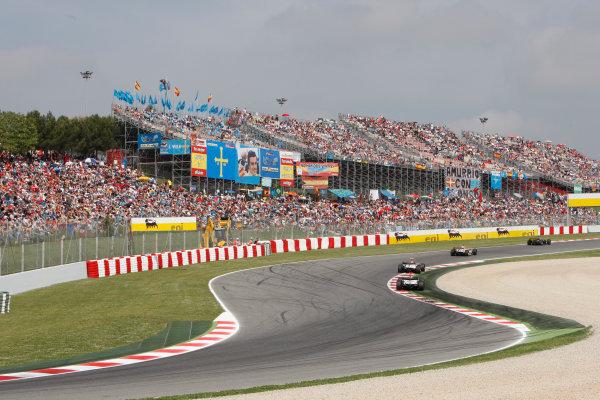 Barcelona, Spain.Sunday Race. 10th May 2009.Race action. World Copyright: Glenn Dunbar / GP2 Series Media Service.Ref: _O9T8150 jpg