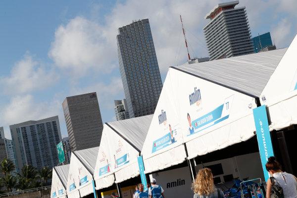Miami e-Prix 2015. First Practice Session Atmosphere. FIA Formula E World Championship. Miami, Florida, USA. Saturday 14 March 2015.  Copyright: Adam Warner / LAT / FE ref: Digital Image _L5R3449