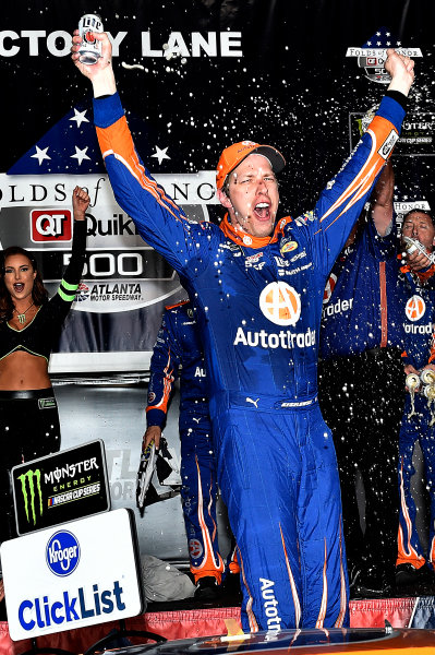 2017 Monster Energy NASCAR Cup Series - Fold of Honor QuikTrip 500 Atlanta Motor Speedway, Hampton, GA USA Sunday 5 March 2017 Brad Keselowski World Copyright: Rusty Jarrett/LAT Images ref: Digital Image 17ATL1rj_2837