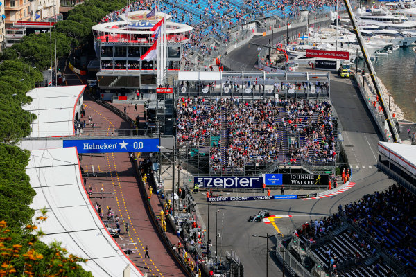 Monte Carlo, Monaco. Thursday 25 May 2017. Lewis Hamilton, Mercedes F1 W08 EQ Power+. World Copyright: Zak Mauger/LAT Images ref: Digital Image _56I5128
