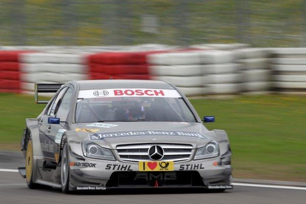 Bruno Spengler (CDN), Mercedes-Benz Bank AMG.DTM, Rd6, Nurburgring, Germany, 6-7 August 2011.World Copyright: LAT Photographicref: Digital Image dne1106au31