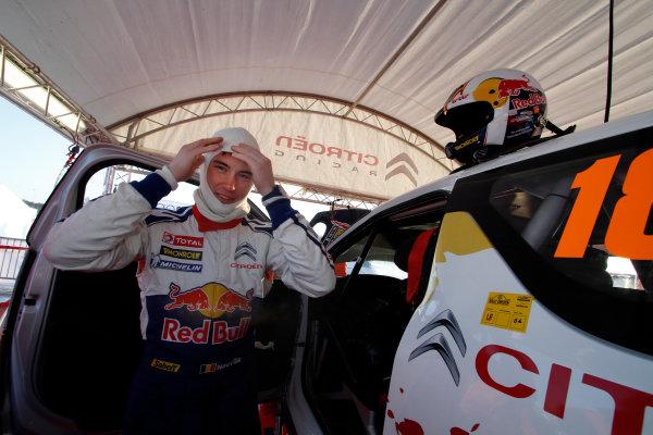 Round 02 - Rally Sweden 09-12 February 2012. Thierry, Neuville, Citroen WRC, Portrait  Worldwide Copyright: McKlein/LAT
