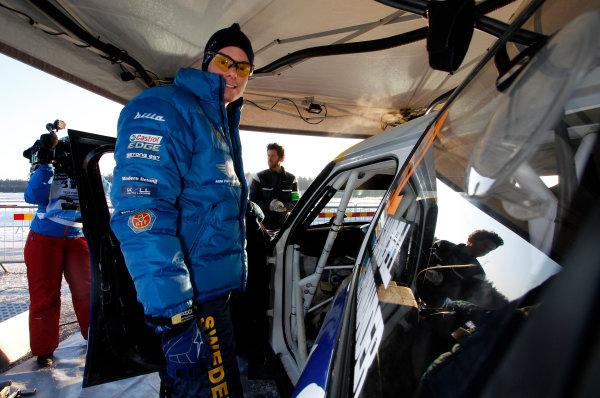 Round 02 - Rally Sweden 09-12 February 2012. Patrik Sandell, Mini WRC, Portrait  Worldwide Copyright: McKlein/LAT