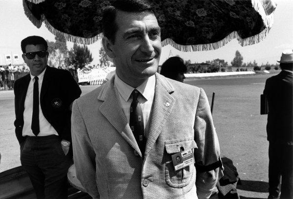 Mexico City, Mexico. 20 - 22 October 1967.Franco Lini, Ferrari Team Manager, portrait.World Copyright: LAT Photographic.Ref:  1786 - 18A
