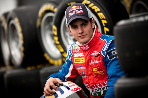 Round 5. Nurburgring, Germany. 21st July 2011.Thursday Preview. Lewis Williamson, (GBR, MW Arden), winner of race 8 at round 4 in Silverstone. Portrait. Photo: Drew Gibson/GP3 Media Service.  ref: Digital Image _Y2Z3722