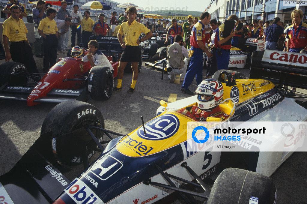 1987 Spanish Grand Prix.