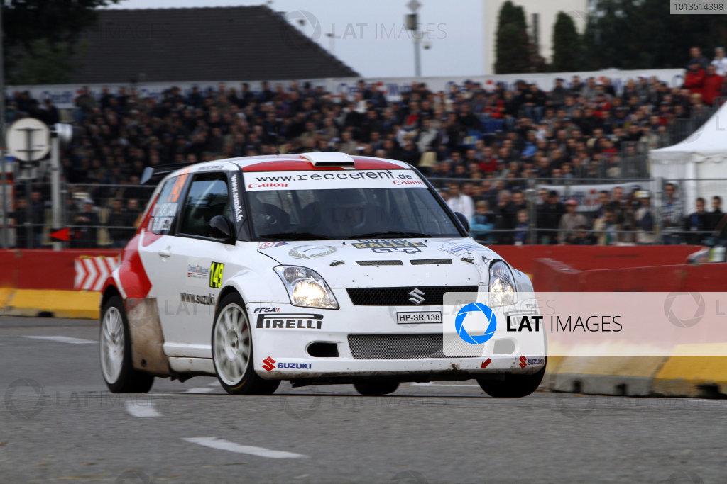 Round 11Rally de France 30/9-3/10JŽrŽmi Ancian, Suzuki JWRC, Action.Worldwide Copyright: McKlein/LAT