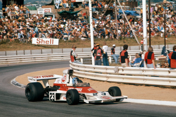 Kyalami, South Africa. 30 March 1974.