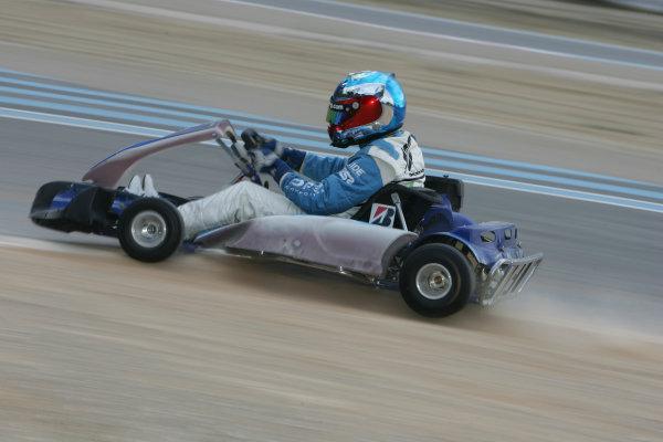2005 GP2 Karting Challenge13th June 2005Ryan Sharp (GB, DPR). Action. Circuit Paul Ricard, FranceWorld Copyright: GP2 SeriesDigital Image Only
