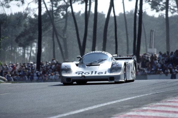 1984 Le Mans 24 HoursLe Mans, France. 16th - 17th June 1984. Chris Craft/Alain de Cadenet/Allan Grice (Porsche 956), retired, action.  World Copyright: LAT Photographic. ref: 84LM24.