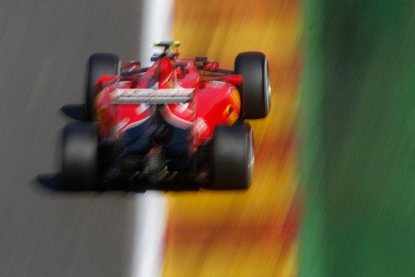 Spa-Francorchamps, Spa, Belgium. Saturday 22 August 2015. Kimi Raikkonen, Ferrari SF15-T. World Copyright: Glenn Dunbar/LAT Photographic ref: Digital Image _89P3186