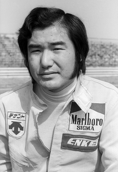Hiroshi Fushida (JPN) failed to start on his debut GP appearance as there wasn't a spare engine for the Maki F101C, which was making its F1 comeback after an inauspicious debut the season before.