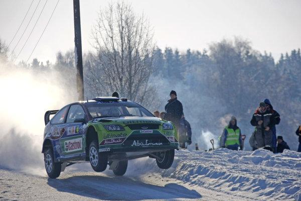 Round 02Rally Norway 12-15 February 2009Mikko Hirvonen, Action, Ford.Worldwide Copyright: McKlein/LAT
