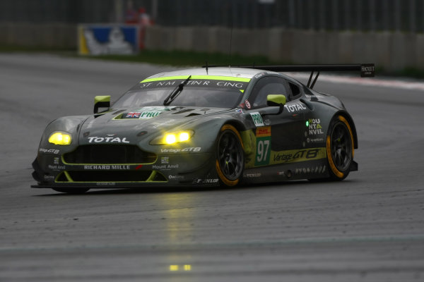 2016 FIA World Endurance Championship, Mexico City, Autodromo Hermanos Rodriguez, 1st-3rd September 2016, Richard Stanaway / Darren Turner - Aston Martin Vantage  World Copyright. Jakob Ebrey/LAT Photographic