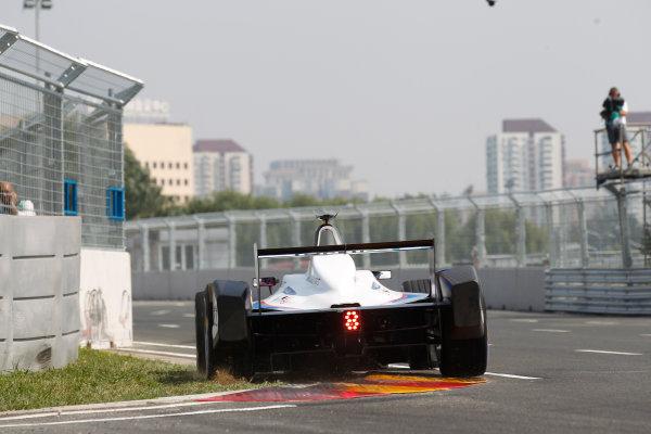 FIA Formula E - Qualifying  Beijing E-Prix, China Saturday 13 September 2014. Franck Montagny (FRA)/Andretti Motorsport - Spark-Renault SRT_01E  Photo: Sam Bloxham/LAT/ Formula E ref: Digital Image _G7C1864
