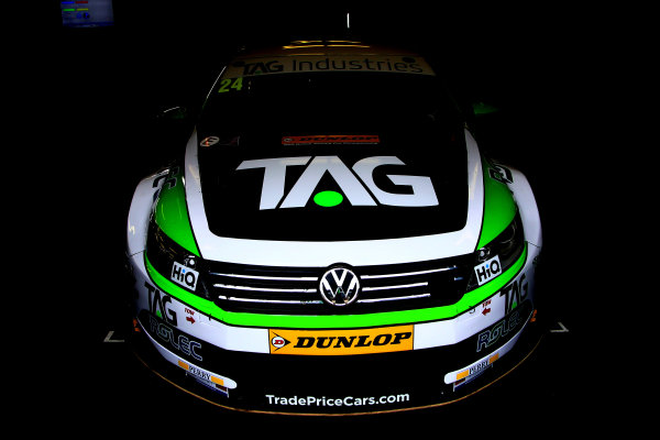 2017 British Touring Car Championship, Rockingham, England. 26th-27th August 2017, Jake Hill (GBR) TAG Racing Volkswagen CC World Copyright. JEP/LAT Images