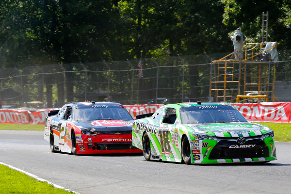 NASCAR XFINITY Series Mid-Ohio Challenge Mid-Ohio Sports Car Course, Lexington, OH USA Saturday 12 August 2017 Regan Smith, Interstate Batteries Toyota Camry and Ben Kennedy, Rheem Chevrolet Camaro World Copyright: Russell LaBounty LAT Images