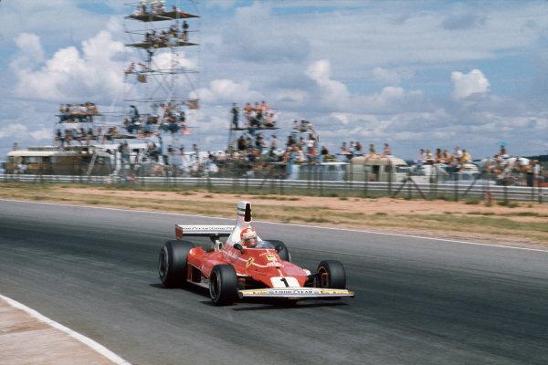 Kyalami, South Africa. 4-6 March 1976. Niki Lauda, Ferrari 312T. Ref: 76SA02. World Copyright - LAT Photographic