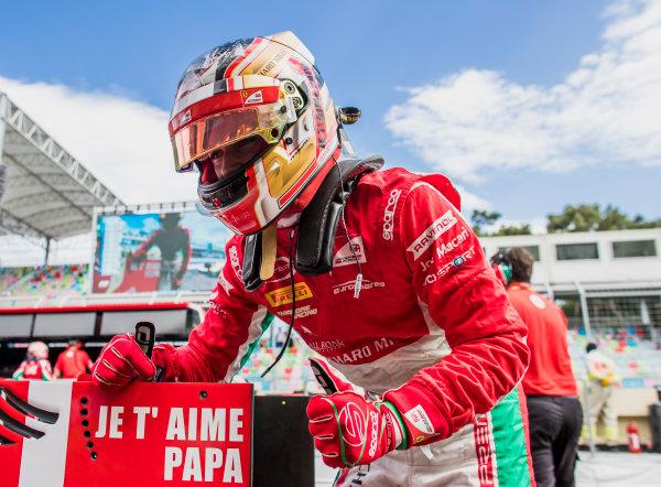 2017 FIA Formula 2 Round 4. Baku City Circuit, Baku, Azerbaijan. Friday 23 June 2017. Charles Leclerc (MCO, PREMA Racing)  Photo: Zak Mauger/FIA Formula 2. ref: Digital Image _54I0900