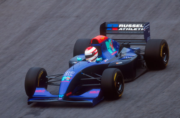 Interlagos, Sao Paulo, Brazil.25-27 March 1994.Roland Ratzenberger (Simtek S941 Ford). He did not qualify for the race.Ref-94 BRA 22.World Copyright - LAT Photographic