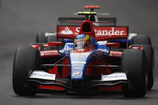 2008 GP2 Series. Round 3. Friday Race. Monte-Carlo, Monaco. 24th May 2008.Bruno Senna (BRA, iSport International). Action. World Copyright: Glenn Dunbar/GP2 Series Media Service.ref:__O9T8926 jpg