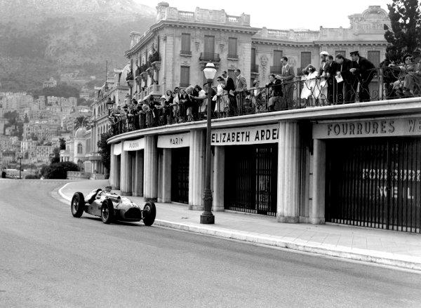 1950 Monaco Grand Prix.Monaco, Monte Carlo. 21st May 1950.Philippe Etancelin (Lago-Talbot T26C). Ref-C26707.World Copyright: LAT Photographic