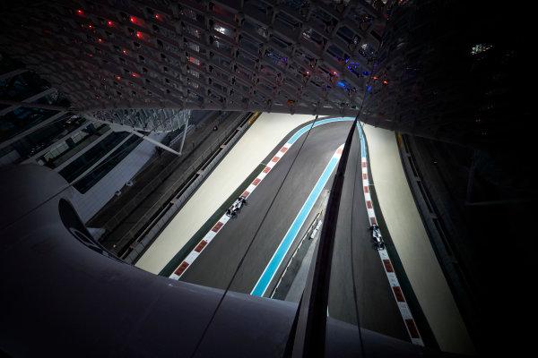 Yas Marina Circuit, Abu Dhabi, United Arab Emirates. Friday 24 November 2017. Lewis Hamilton, Mercedes F1 W08 EQ Power+. World Copyright: Steve Etherington/LAT Images  ref: Digital Image SNE20346
