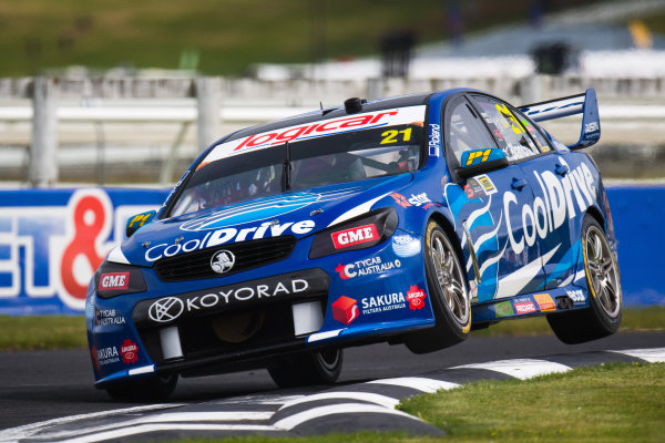 2017 Supercars Championship Round 14.  Auckland SuperSprint, Pukekohe Park Raceway, New Zealand. Friday 3rd November to Sunday 5th November 2017. Tim Blanchard, Brad Jones Racing Holden.  World Copyright: Daniel Kalisz/LAT Images  Ref: Digital Image 031117_VASCR13_DKIMG_0831.jpg