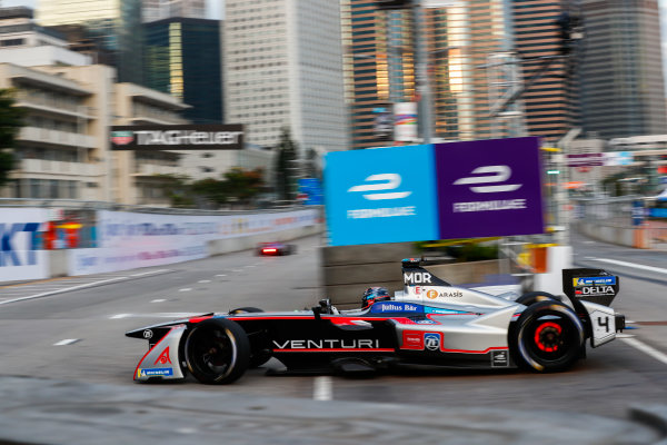 2017/2018 FIA Formula E Championship. Round 1 - Hong Kong, China. Saturday 02 December 2017. Edoardo Mortara (ITA) Venturi Formula E, Venturi VM200-FE-03. Photo: Sam Bloxham/LAT/Formula E ref: Digital Image _W6I5464